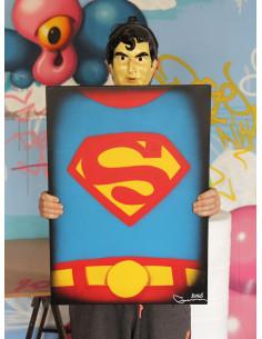 Superman sur béton - GUM