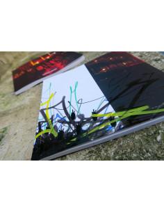 Handfinished Book VANIA - Fleurs éternelles