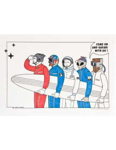The space patrol 13/13 - HONET