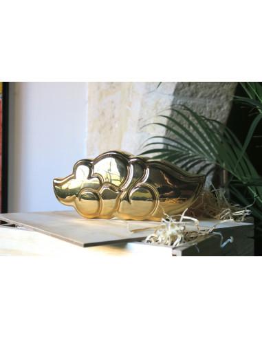 Flop Gold en porcelaine - TILT