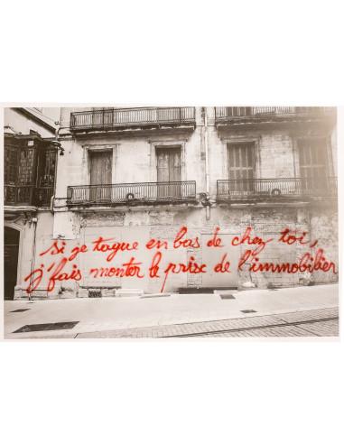 """Print """"La peau lisse aux fesses"""" - JONNYSTYLE"""