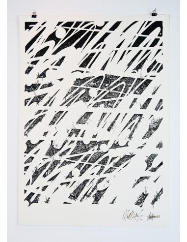 Screen print Graffito - MOMIES