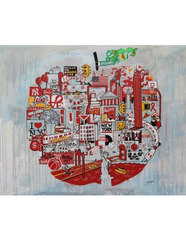 Big Apple, 2012 - JONNYSTYLE