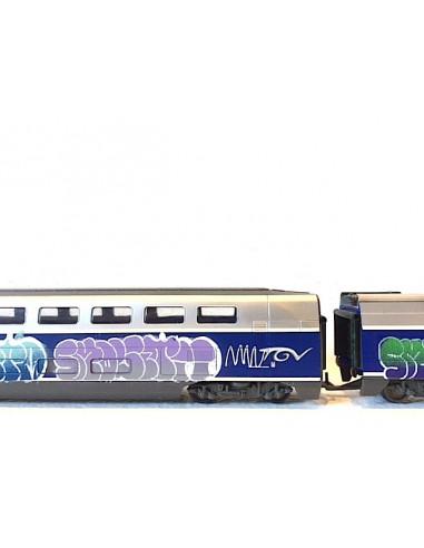 Train TGV customisé - SMOLE