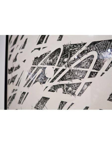 "Original drawing ""Flash 2"" - MAYE & MOMIES"