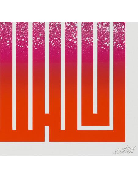 "Lithographie rehaussée ""Remember the day"" 34 - L'ATLAS"