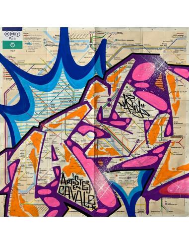 Original subway map 1 - NASTY