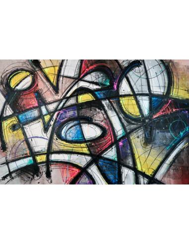 Primal Rough 2 Canvas - MIST