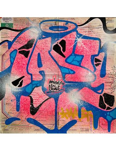 "Plan de métro ""Original subway map"" - NASTY"