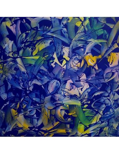 SPECTRUM BLUE canvas - RAFAEL SLIKS