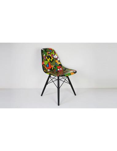 Green original Eames chair - MIST