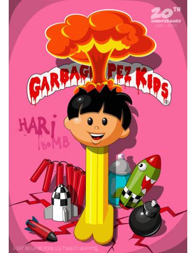 """""""Garbage pez kids"""" print - GUM"""