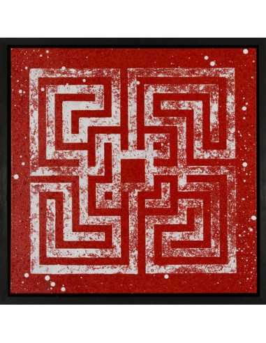 "Canvas ""The fucking maze"" - L'ATLAS"