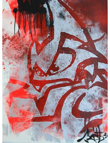 Lithographie n°2/33 - MIST